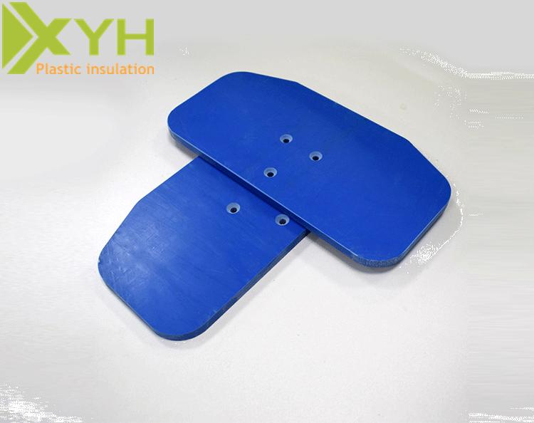 蓝色PVC板
