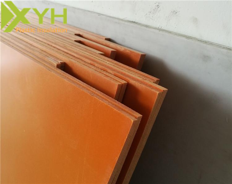 优质橘红色电木板
