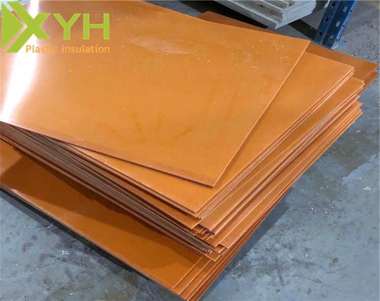 橘黄色酚醛胶木板
