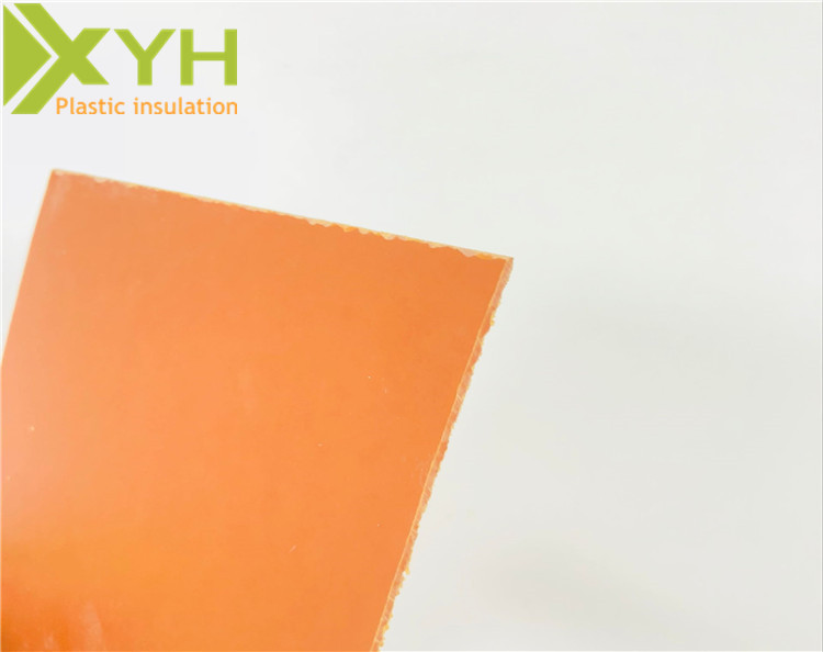 厂家直销橘红色电木板