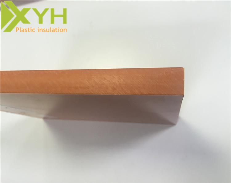 定制切割尺寸橘红色电木板