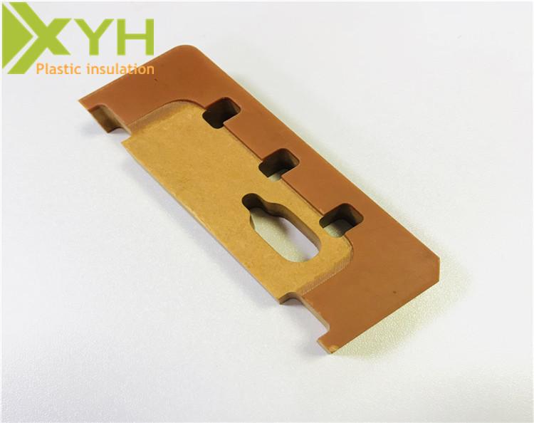 耐高温橘红色电木板材