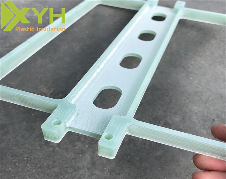 水绿色绝缘环氧板雕刻加工