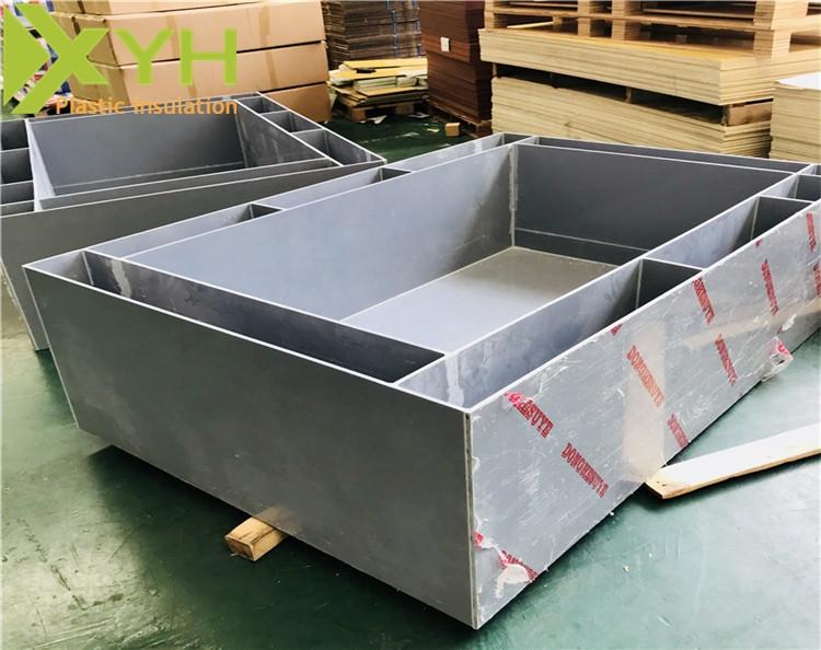灰色PVC水箱焊接