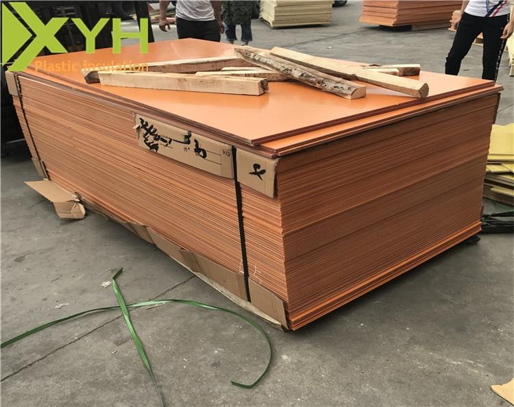 深圳橘红色电木板