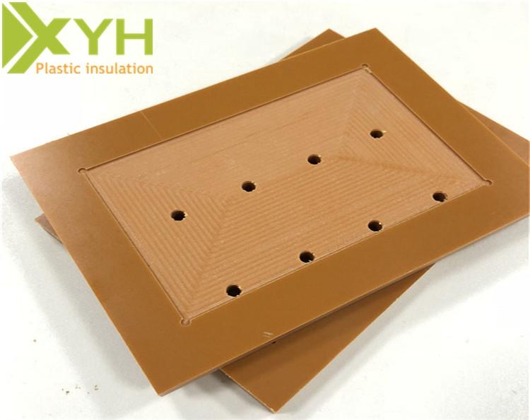 电木板铣槽加工