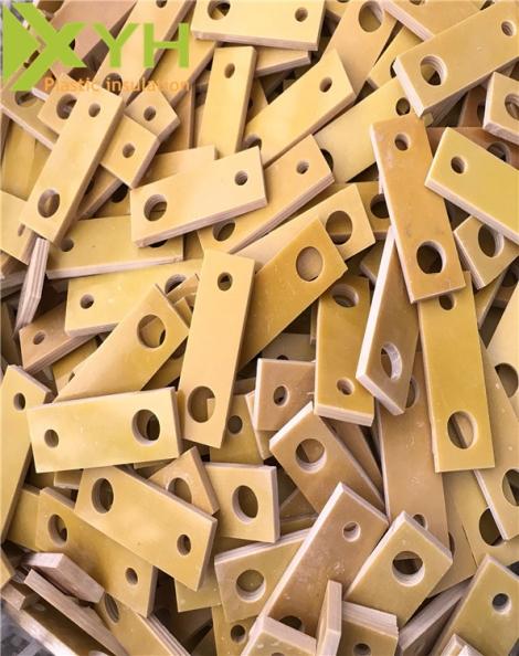 黄色环氧板钻孔加工